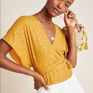 Anthropologie NWT Mindy Dolman Sleeved Blouse